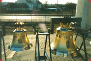 A set of bells made for St. Josephs church in Siedlce